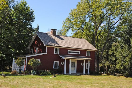 Garret K. Osborn House and Barn in Saddle River, New Jersey.