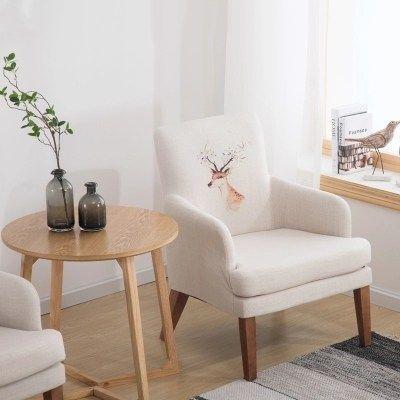 Creative Lazy Single Sofa Chair Balcony Small Sofa Mini Modern Minimalist Bedroom Small Apartment Leisu Single Sofa Chair Modern Minimalist Bedroom Single Sofa