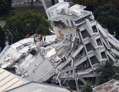 Este terremoto ocurrió en Nueva Zelanda.