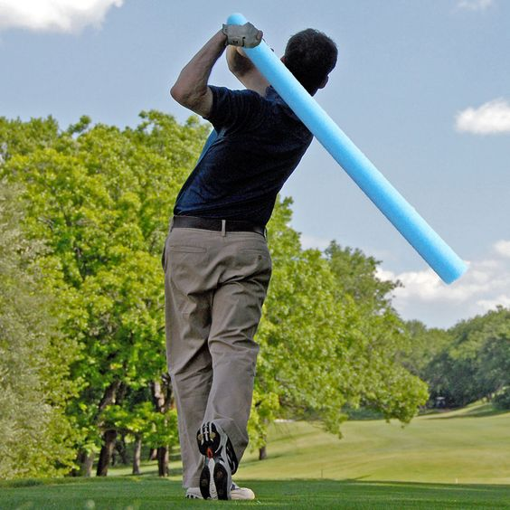 How a Pool Noodle Can Improve Your Golf Swing at Home