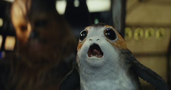 I got Porg! Quiz: Which Adorable Star Wars Creature Should You Have as a Pet?   Movies