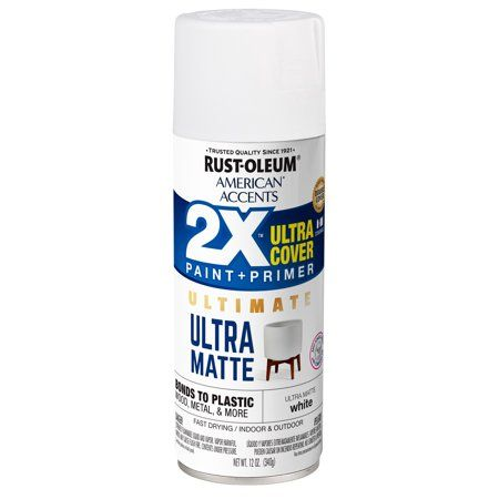 Home Improvement White Spray Paint Matte Spray Paint Spray Paint Projects