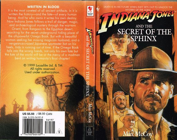 תוצאת תמונה עבור ‪Indiana Jones and the Secret of the Sphinx‬‏