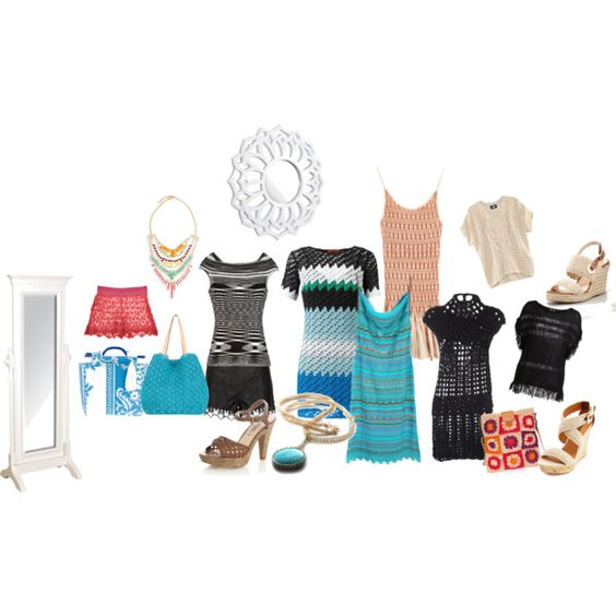 K for KNIT by noconfessions on Polyvore