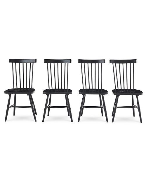 Bensen Dining Chair 4 Pc Set Set Of 4 Chairs Created For
