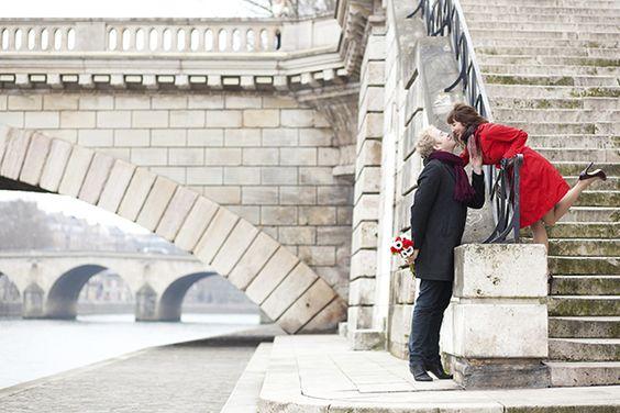 Paris, em França. #casamento #DiadosNamorados #noivos #viagem #citybreak #Europa #Paris