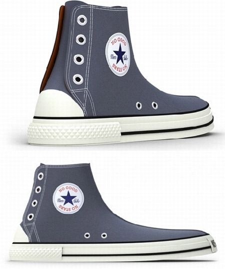 how to make converse look cool