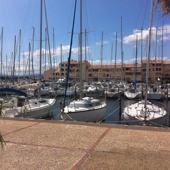 Vacances ☀️ #leucate #port #portlanouvelle #bateaux #soleil #vacances #france #holiday #sun
