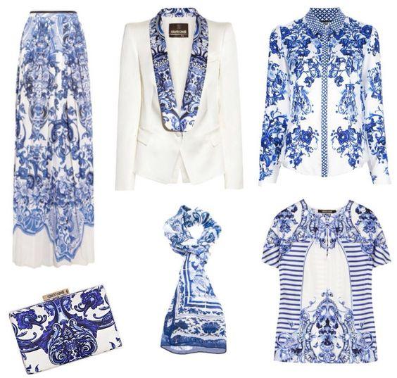 azulejo português, porcelain print, moda, fashion, trend, tendência