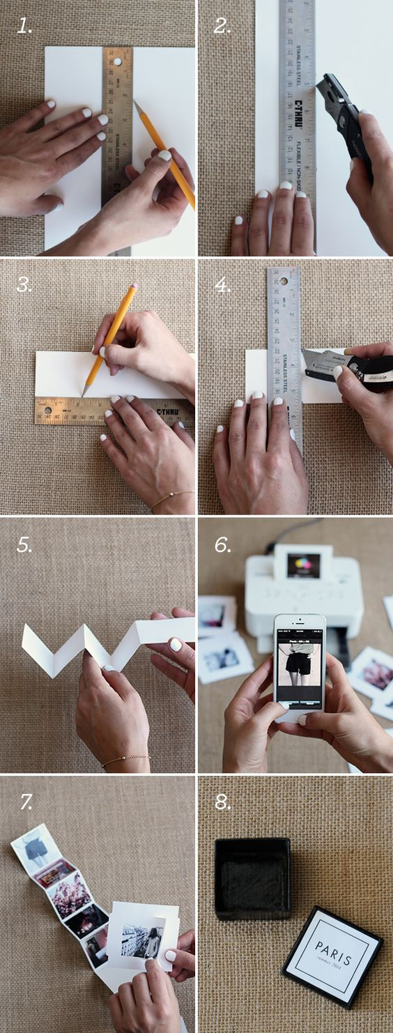 Fotos en escalera... =) idea genial