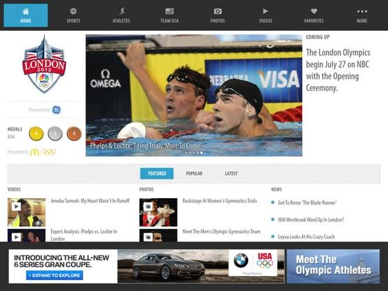 How to Watch the 2012 Summer Olympics Live On Your iPad