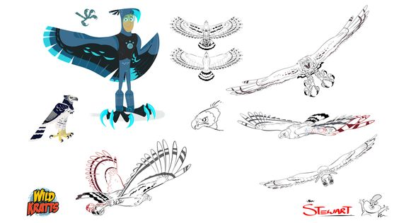 Character Design Challenge Themes : Wild kratts alan s character design ★