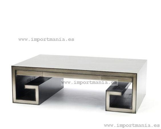 Mesa baja oriental plata-Muebles chinos - muebles orientales - decoración oriental China -