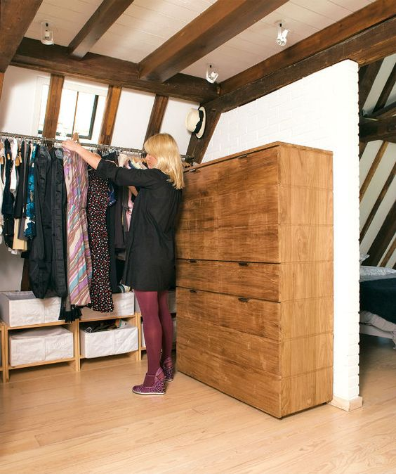 a home in Amsterdam - Interior of the Week | We Heart Home. Drawers are invincible.