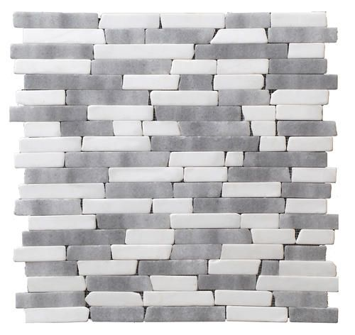 marbles grey mosaic tiles tile than you bathroom kitchens sticks
