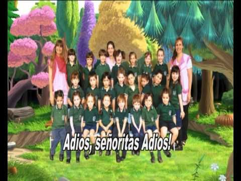 Cancion de despedida para jardin youtube graduacion for Cancion en el jardin