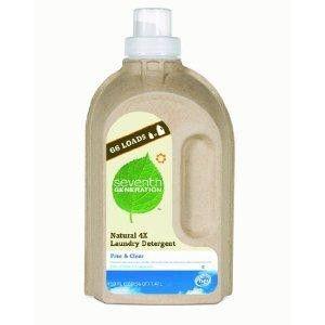Seventh Generation Liquid Laundry, 4x Free & Clear (6x50 Oz)