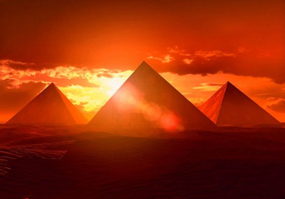 The Great Pyramids of Egypt!