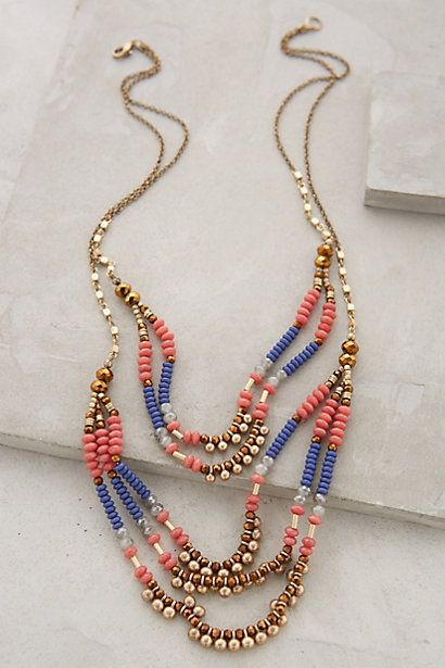 Sundown Tiered Necklace: