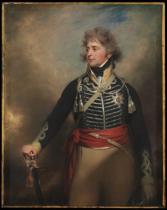 George IV (1762–1830), When Prince of Wales Sir William Beechey and Workshop (English, Burford 1753–1839 Hampstead) Medium: Oil on canvas Dimensions: 56 1/4 x 44 1/2 in. (142.9 x 113 cm) Classification: Paintings Credit Line: Gift of Heathcote Art Foundation, 1986 Accession Number: 1986.264.3 This artwork is currently on display in Gallery 509