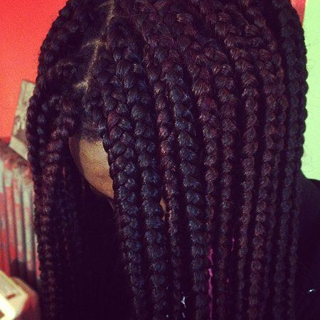 think i'm gonna do some box braids now