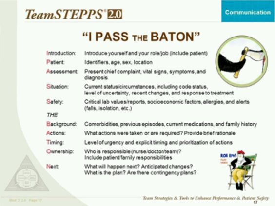 Change Of Shift Report Acronym I Pass The Baton I Passed Nutrition Motivation Healthcare Humor