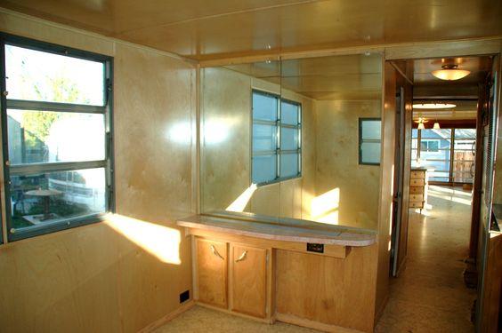 1950 Spartan Carousel bedroom  - tin can tourists