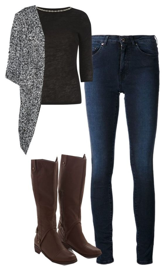 """""""Elena Gilbert Inspired Outfit"""" by mytvdstyle ❤ liked on Polyvore featuring Acne Studios, Dorothy Perkins, Vero Moda, women's clothing, women's fashion, women, female, woman, misses and juniors"""