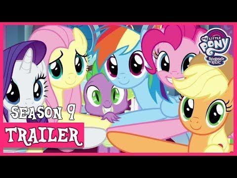 Trailer Season 9 The Final Season Mlp Fim Hd Youtube Mlp Hasbro Studios Seasons