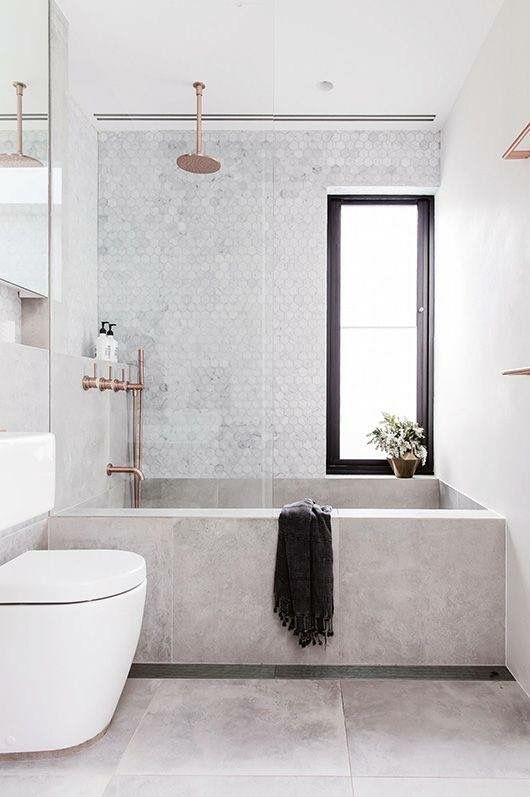 Pinterest Instagram Macselective Bathroom Interior Concrete Bathtub Bathroom Inspiration