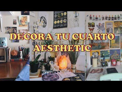 Decora Tu Cuarto Aesthetic Facil Y Rapido Tumblr Retro Vintage Mily Mr Youtube Decoraciones De Cuartos Decoracion De Unas Decoraciones De Dormitorio