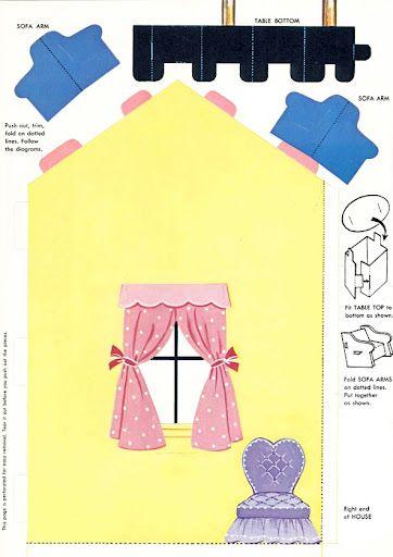 Dollhouse, 1960 - papercat - Picasa Web Albums