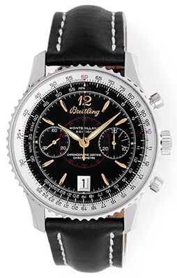 Breitling Montbrillant Men's Stainless Steel Chronograph Watch A48330