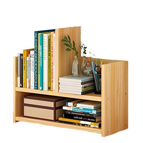 Bookshelf Simple Desktop Shelf Combination Bookcase Simple Modern Table Shelf Student Creative Cabinet Yellow C Small Bookshelf Small Bookcase Bookshelves Diy