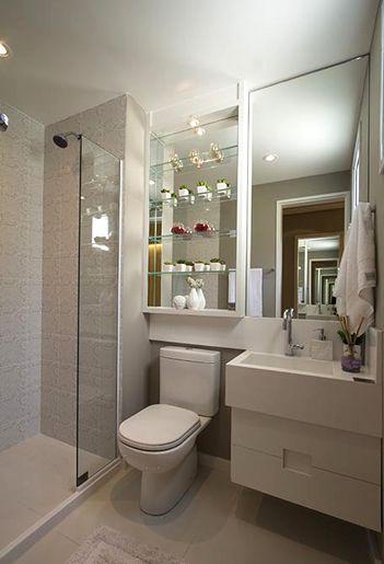 Foto do banheiro da suíte do Follow
