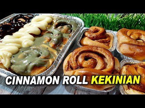 Enaknya Cinnamon Roll Kekinian By Yani Cakes 237 Youtube Roti Cinnamon Roll Cinnamon Roll Roti Gulung