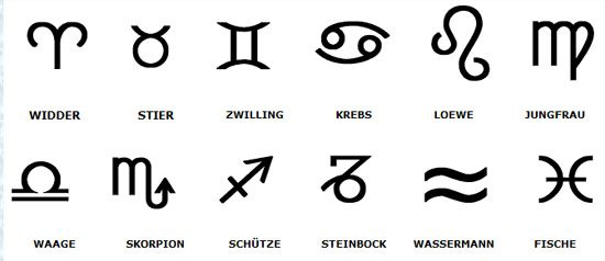 tierkreiszeichen symbole google suche ideas pinterest suche. Black Bedroom Furniture Sets. Home Design Ideas