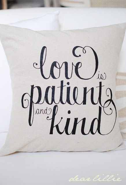 quote pillow how to