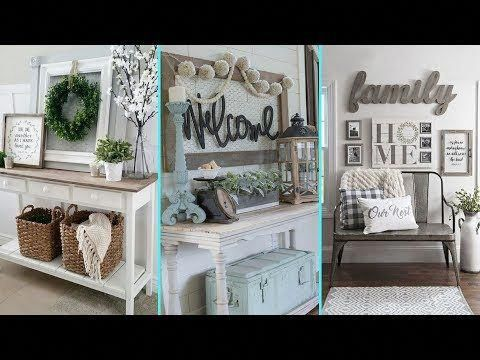 In this video i showcase 4 diy projects including a shabby chic bulletin board with embellished push pins, a repurposed chair and some. Diy Rustic Shabby Chic Style Summer Entryway Decor Ideas Home Decor Ideas Flamingo Mango Yo Shabby Chic Decor Shabby Chic Homes Living Room Design Decor