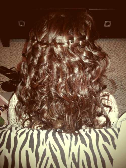 #paulmitchell DO wear curls with a simple braid. let your hair down & work it