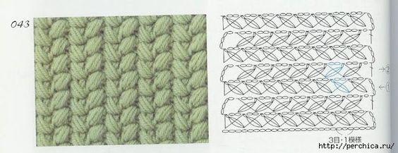 Delicadezas en crochet Gabriela: Bolso ganchillo con patrón del punto