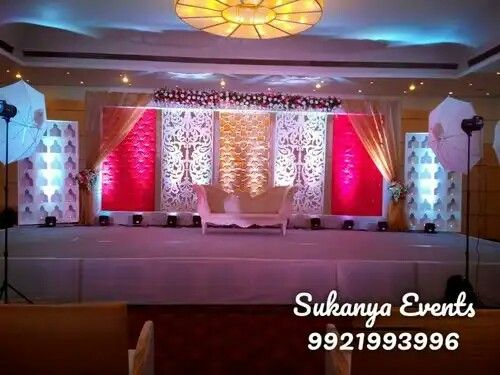 Best Marriage Or Wedding Stage Decoration In 2019 Wedding