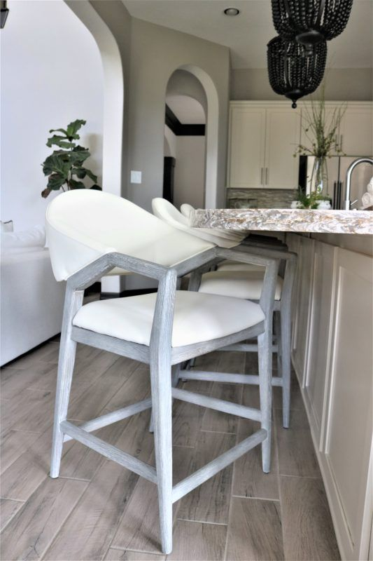 Unique Kitchen Stools And The One We Chose For Our Kitchen White