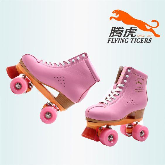 Encontrar Más Zapatos de Skate Información acerca de Tigre del vuelo patines de color rosa dobles de europa y américa modelos de mujeres adultas carreras de F1 zapatos de rodillos de la alta calidad, alta calidad zapatos de la fila, China zapato del patín de ruedas Proveedores, barato patines zapatos de invierno de Flying Tigers Skates Inc en Aliexpress.com