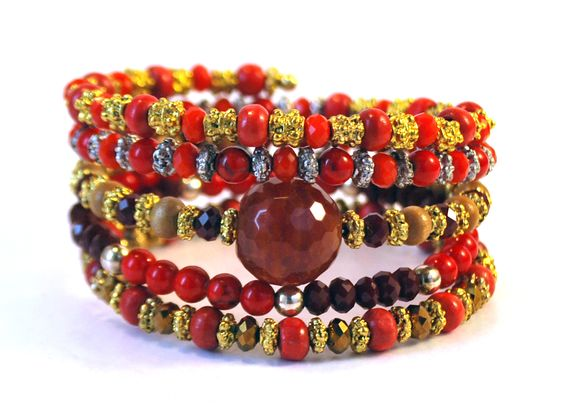 Life on Mars coil bracelet by Lumibon
