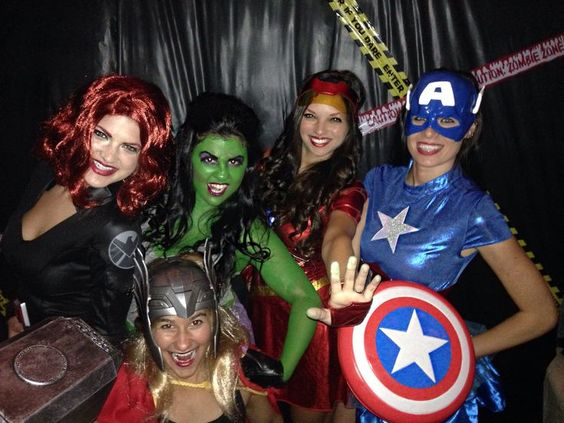 diy avengers costumes - Google Search