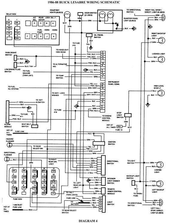 [DIAGRAM] Wiring Diagram 1992 Buick Regal FULL Version HD
