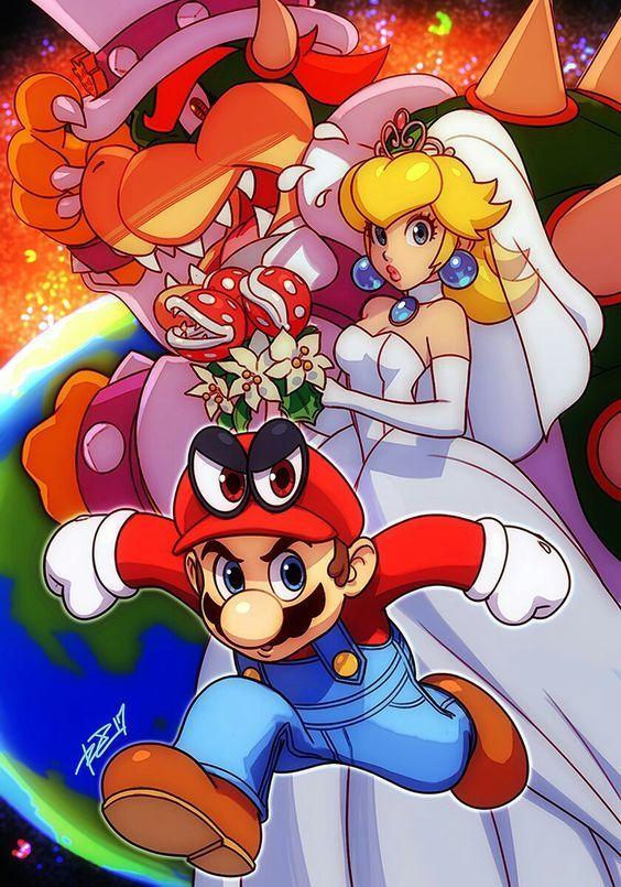 Mario Gallery Super Mario Art Super Mario Games Mario