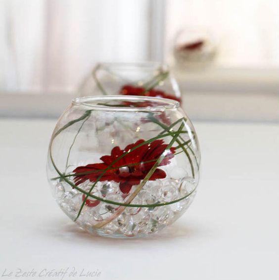 Mariage en rouge et blanc.