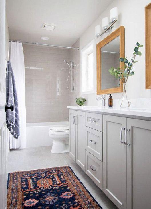 60 Simple Traditional Bathroom Design Ideas Traditional Bathroom Yellow Bathroom Decor Gray And White Bathroom